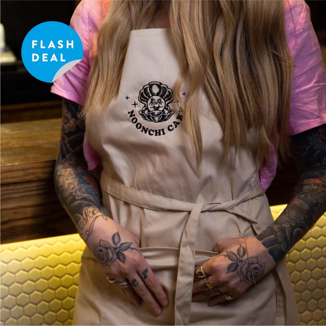 10 x Embroidered Pocket Bib Aprons for £140