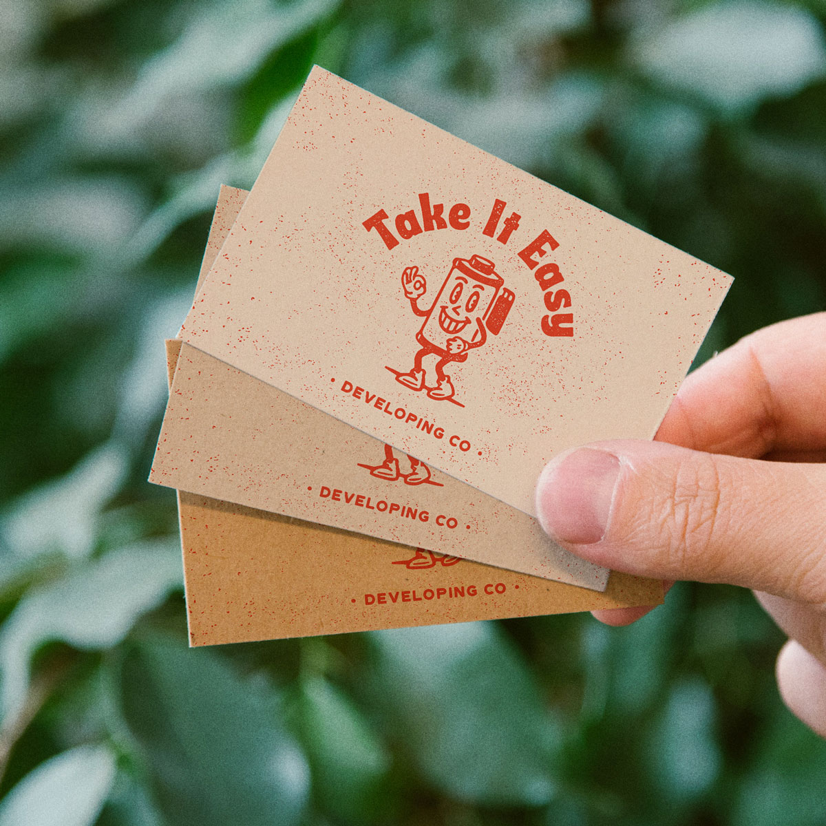 100 x Recycled Business Cards for £20