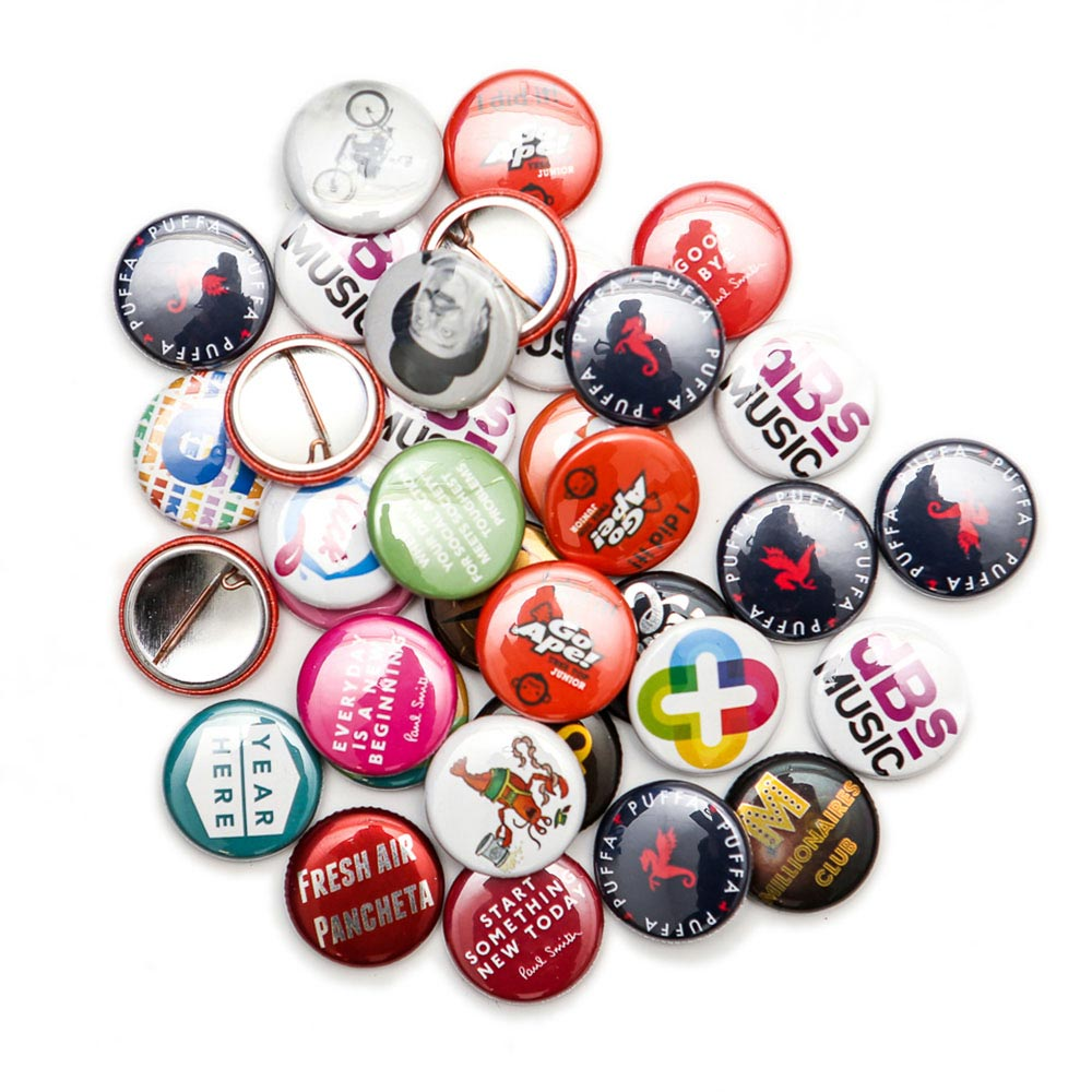25mm Badges Awesome Merchandise