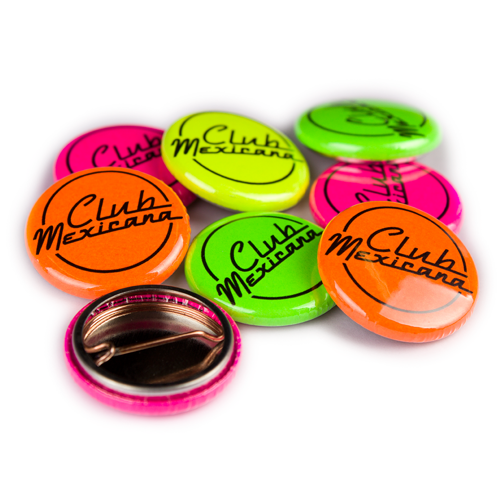 25mm Neon Badges