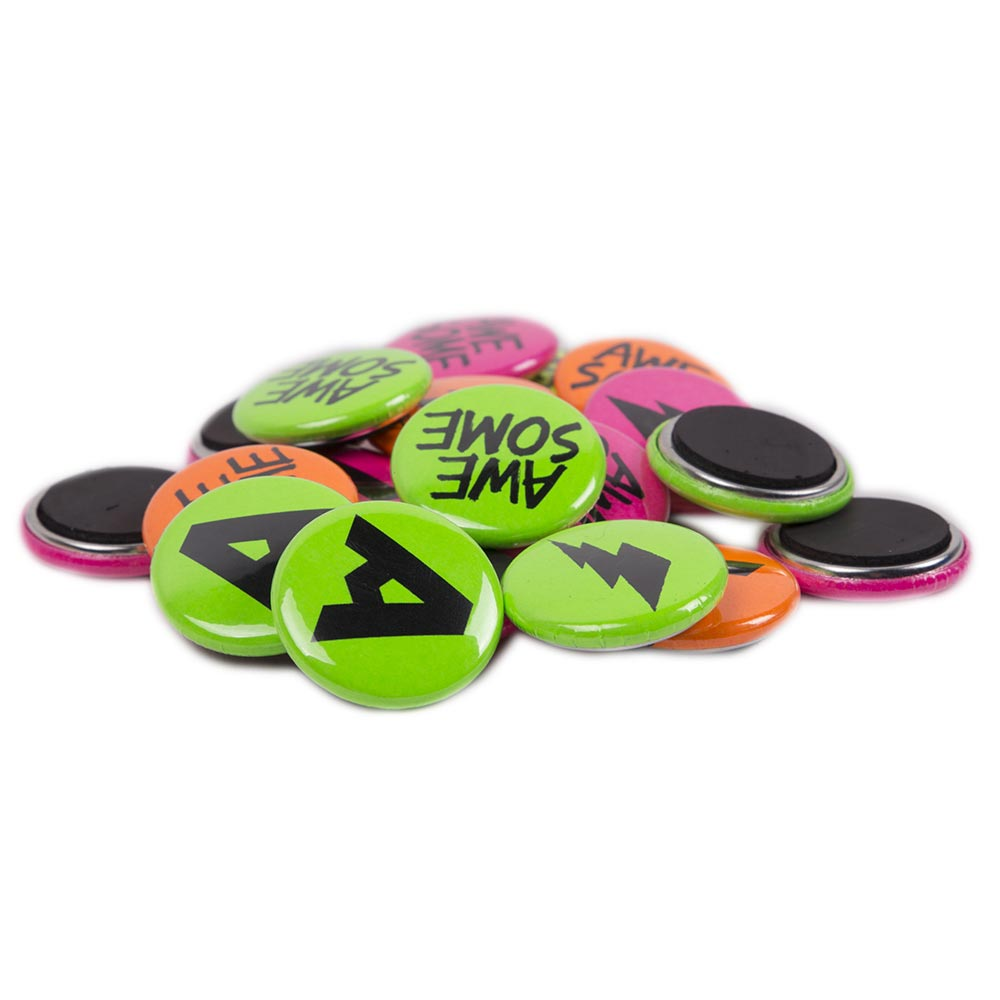 25mm Neon Magnets
