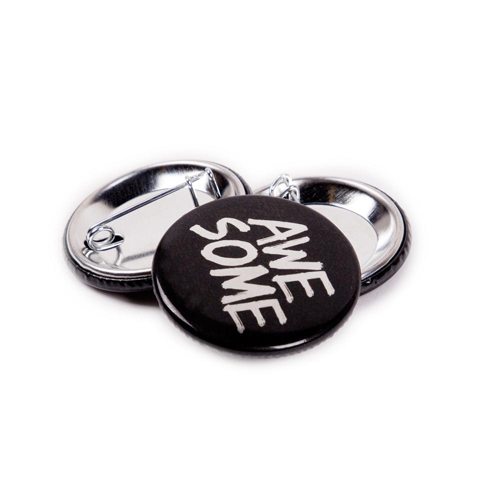 32mm Metallic Badges