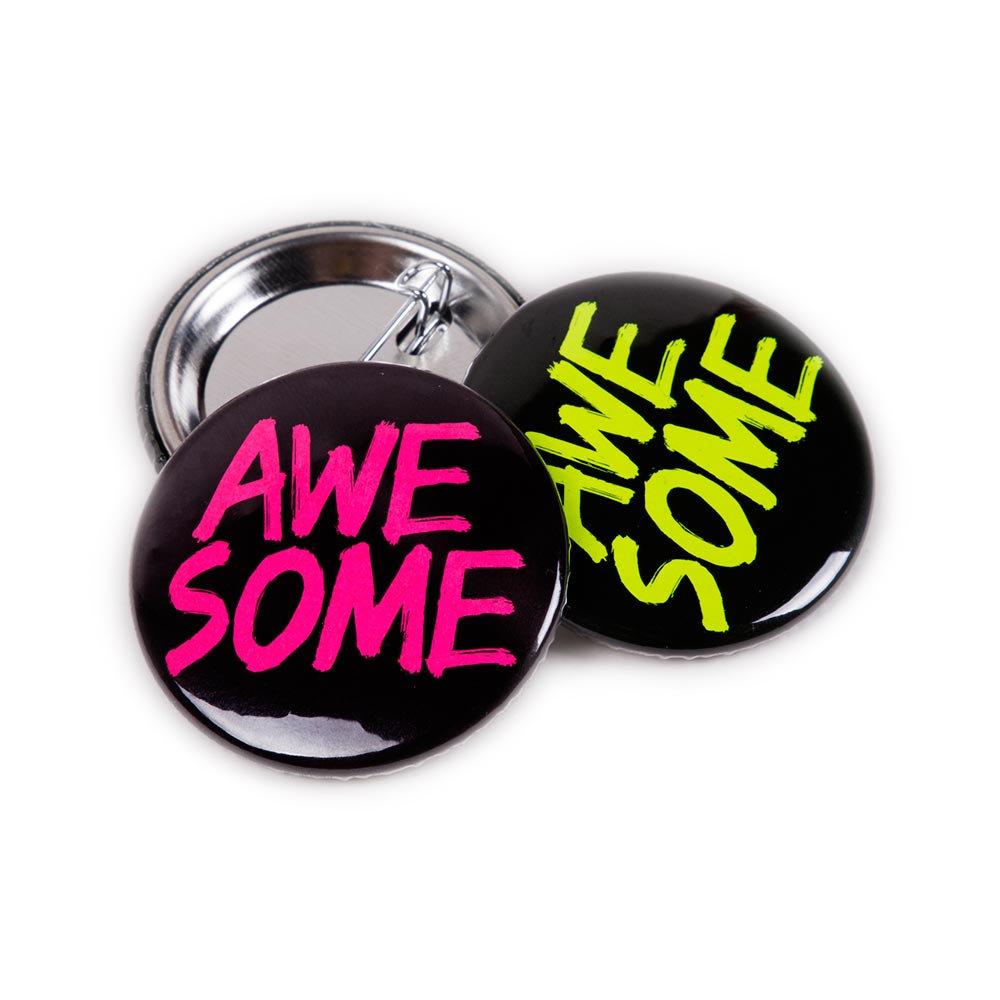 38mm Neon Badges