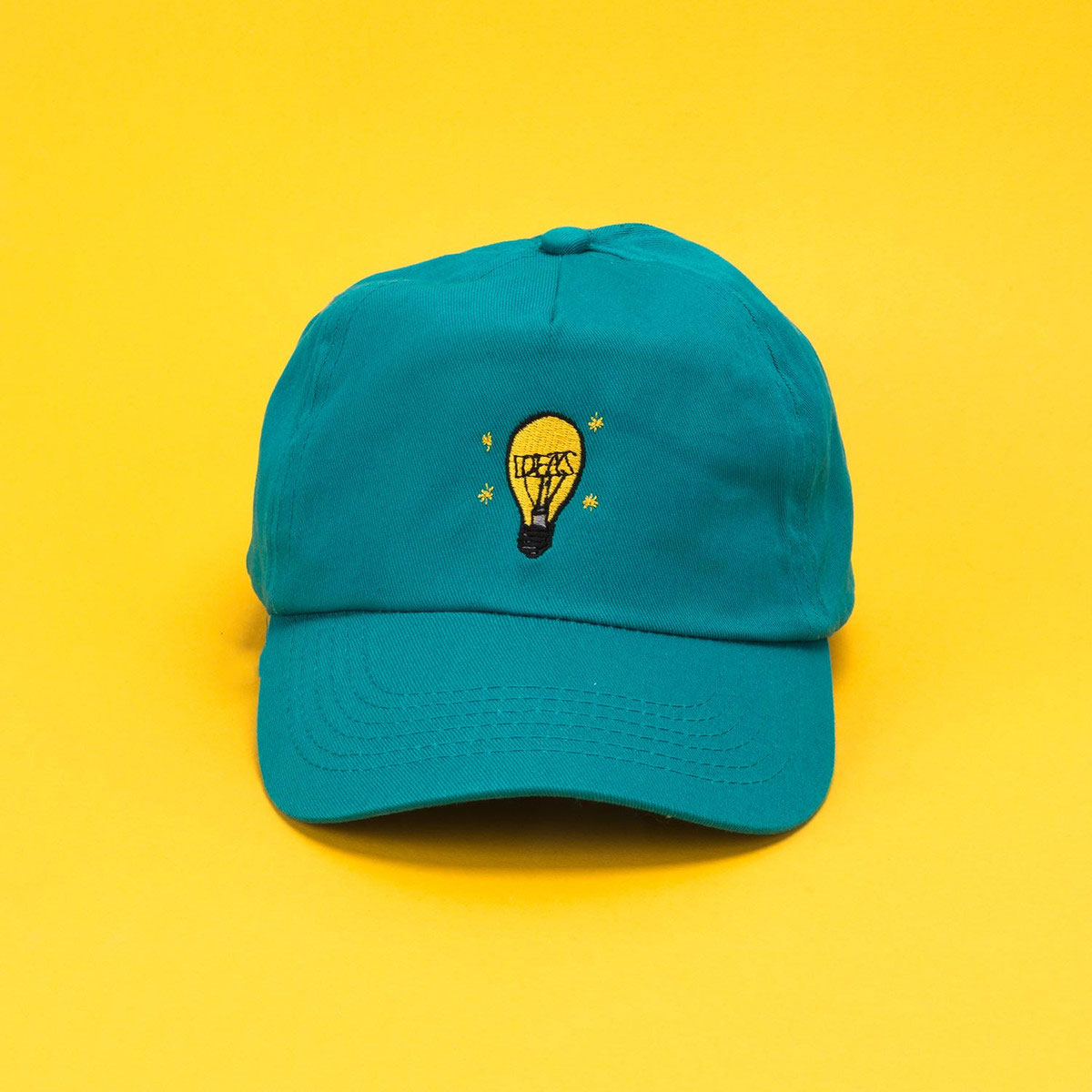 50 x Embroidered Beechfield Original 5 Panel Caps for £295