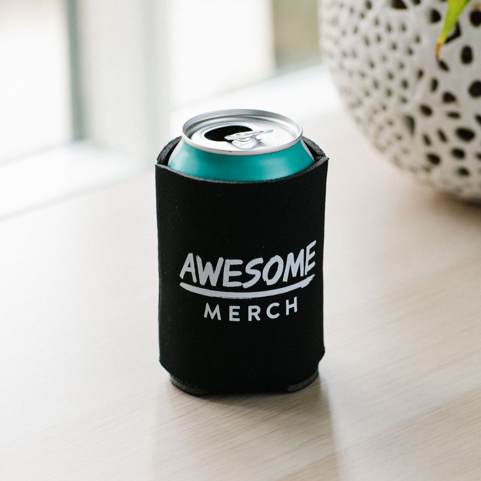 50 x Screen Printed Koozies for £99