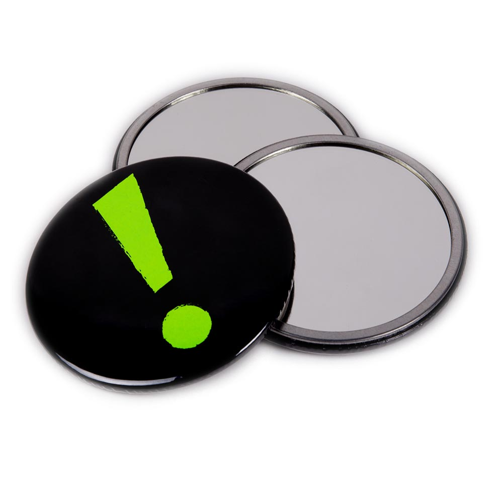58mm Neon Pocket Mirrors