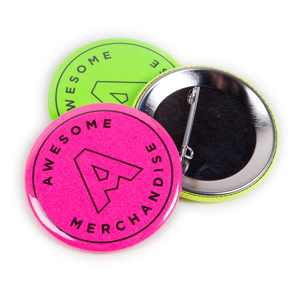 76mm Neon Badges
