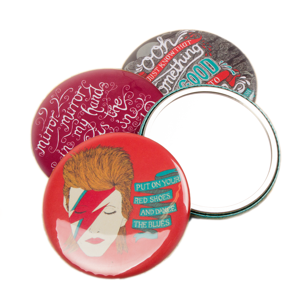 76mm Pocket Mirrors