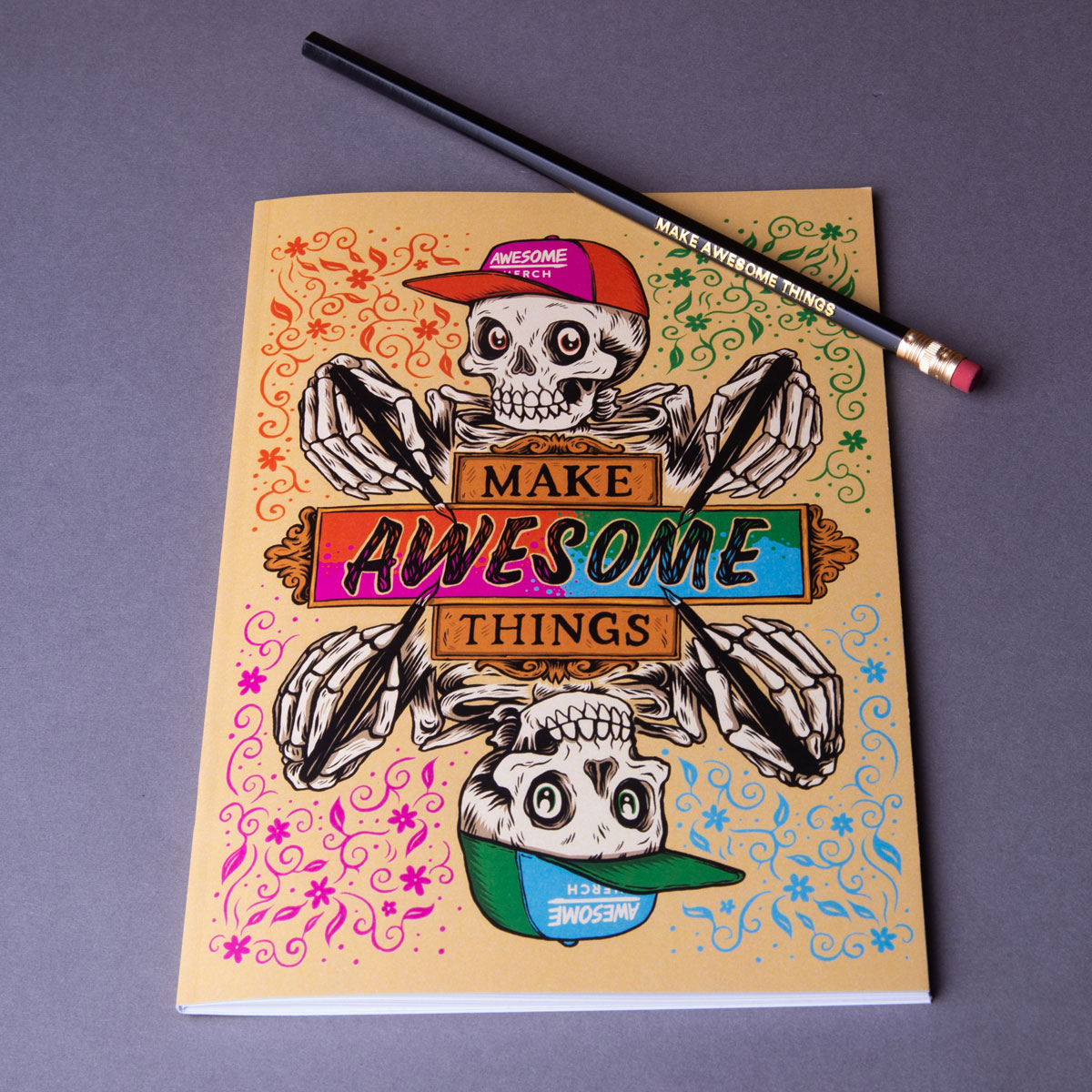 A5 Notebook + Pencil Sample Pack
