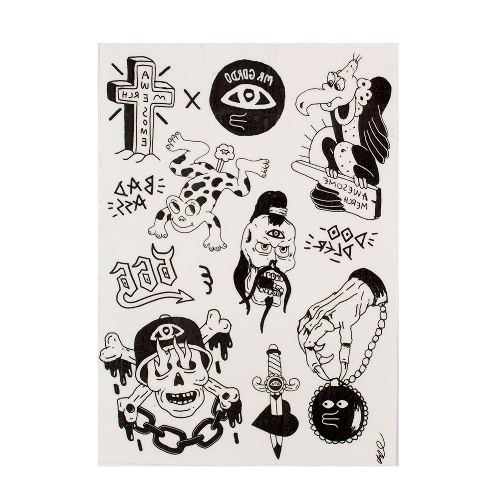 Temporary Tattoos - Awesome Merchandise