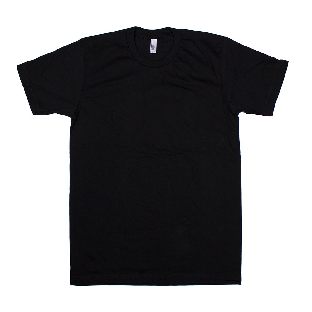 custom printed american apparel fine jersey t shirts