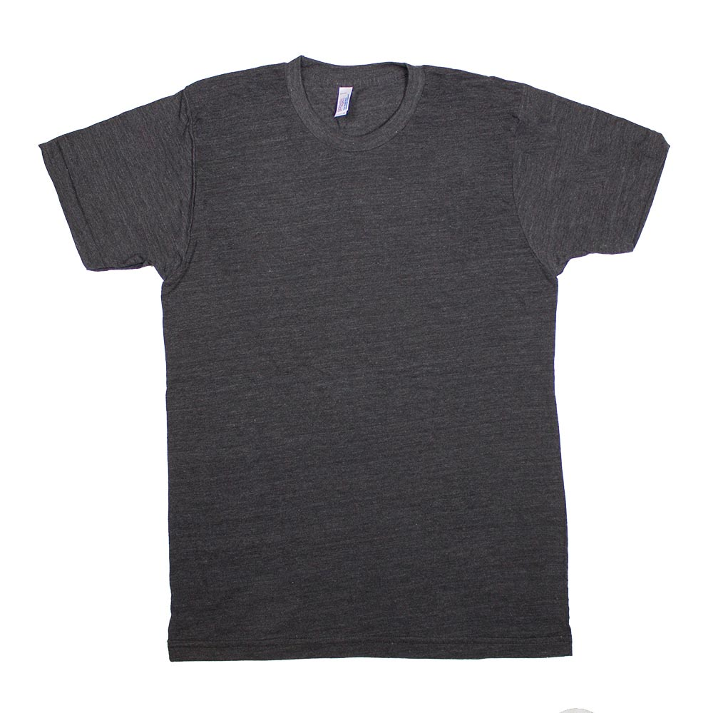 custom printed american apparel tri blend track t shirts