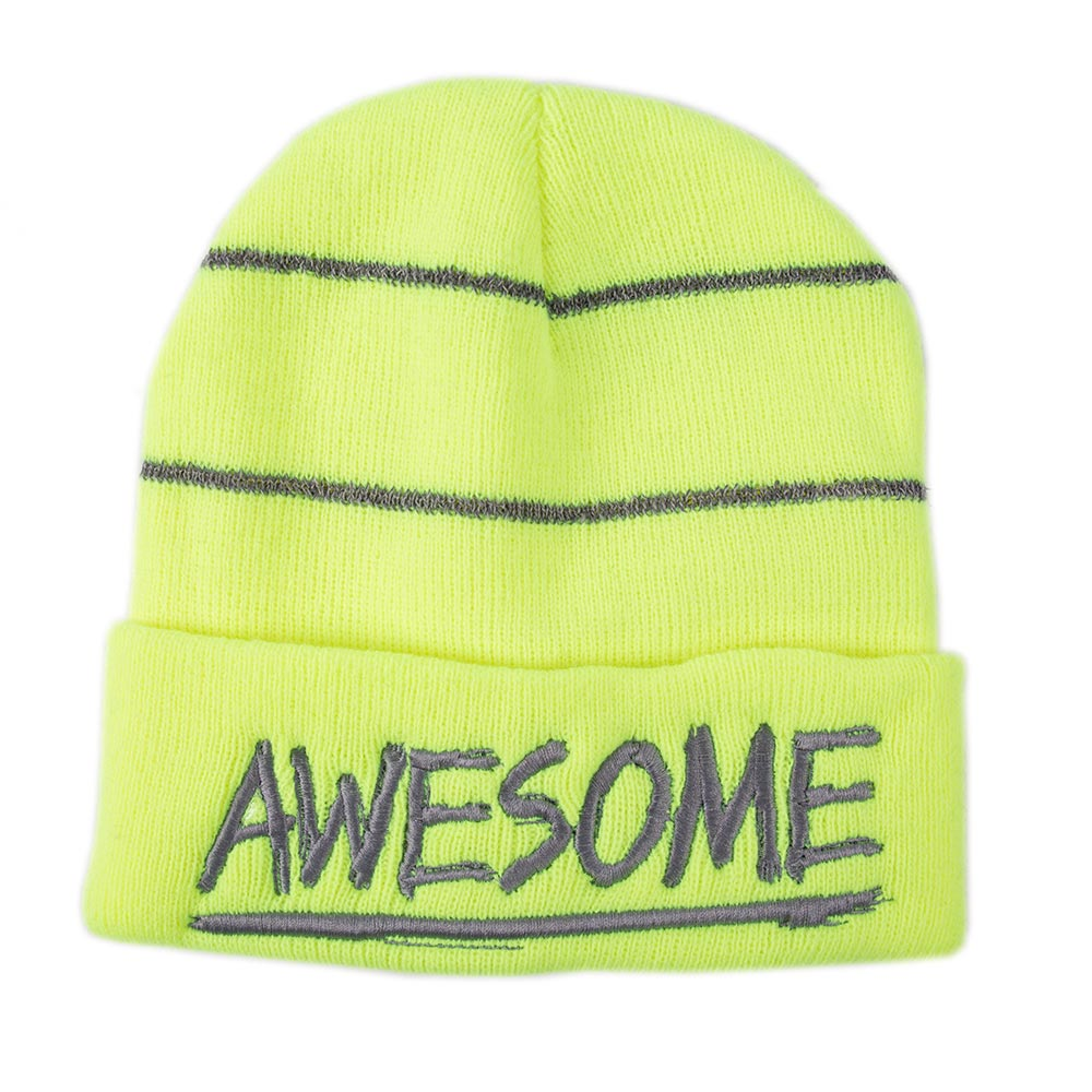 Beechfield Enhanced Viz Knitted Hat