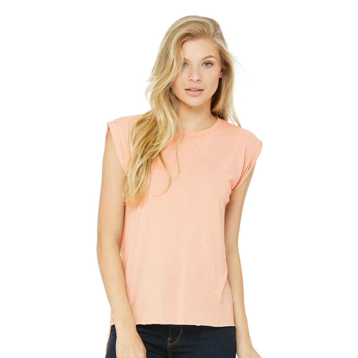 Bella + Canvas Ladies' Flowy Muscle T-Shirts