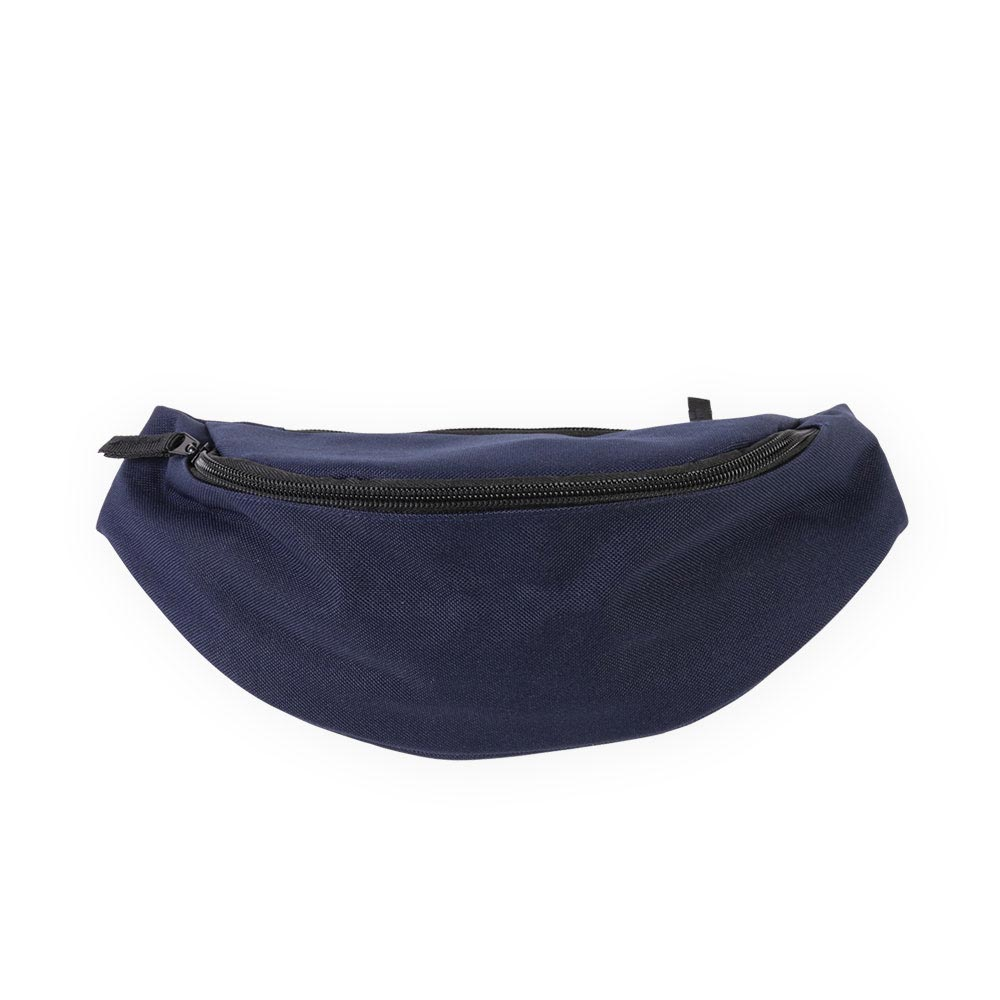 navy belt bag by Bagbase, suitable for embroidery