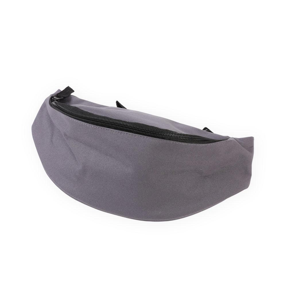 grey belt bag by Bagbase, suitable for embroidery