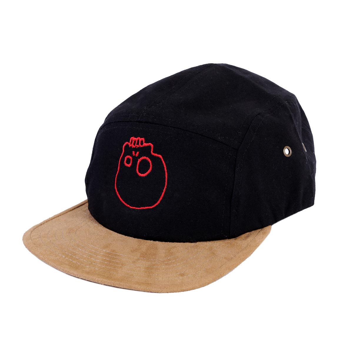 Beechfield Suede Peak 5 Panel Caps