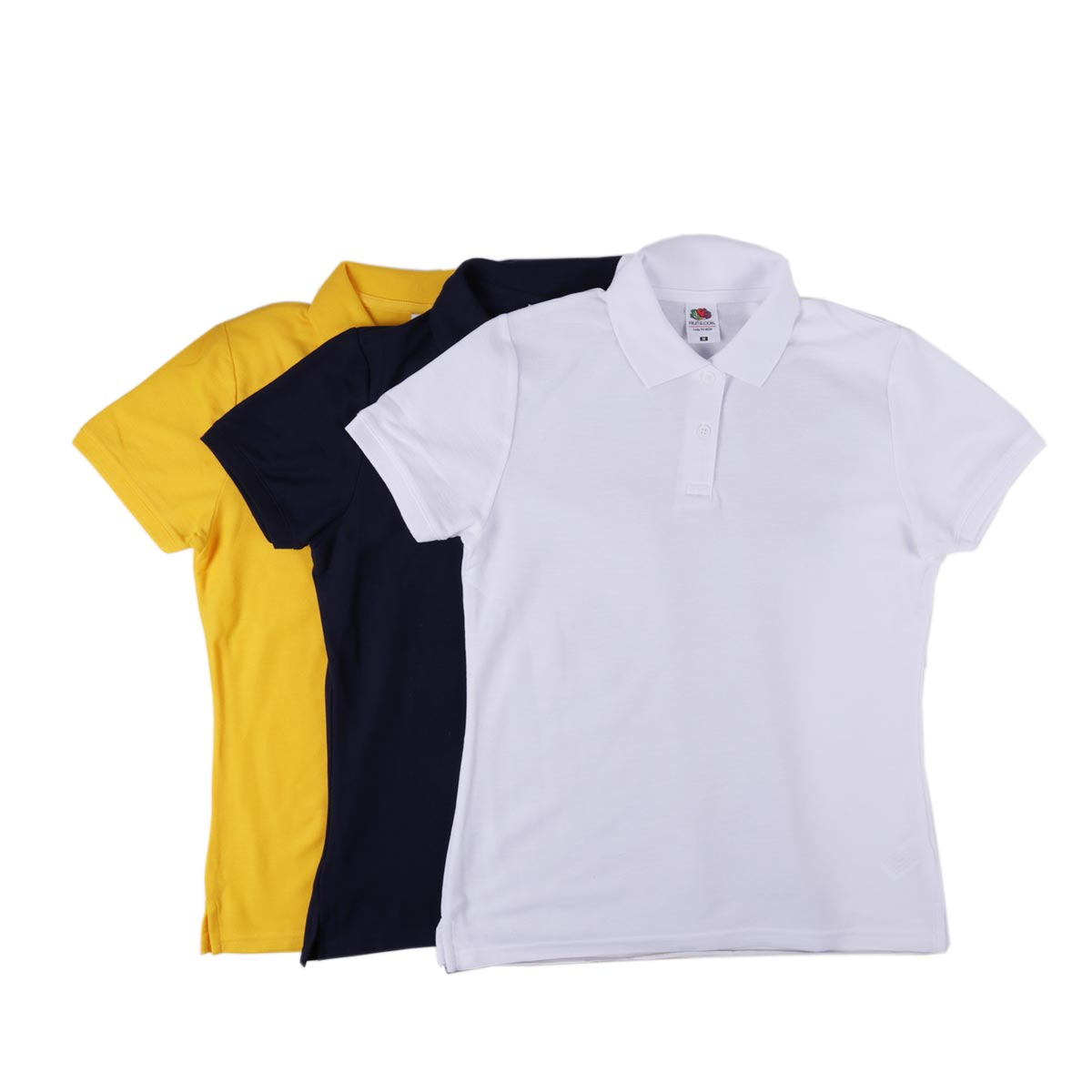 Fruit Of The Loom Lady-Fit Polo Shirts