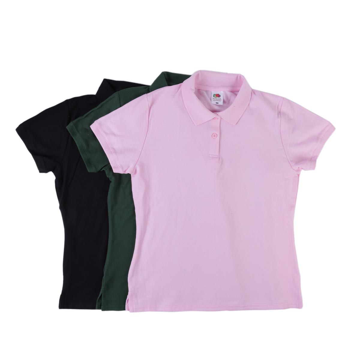 Fruit Of The Loom Lady-Fit Premium Polo Shirts