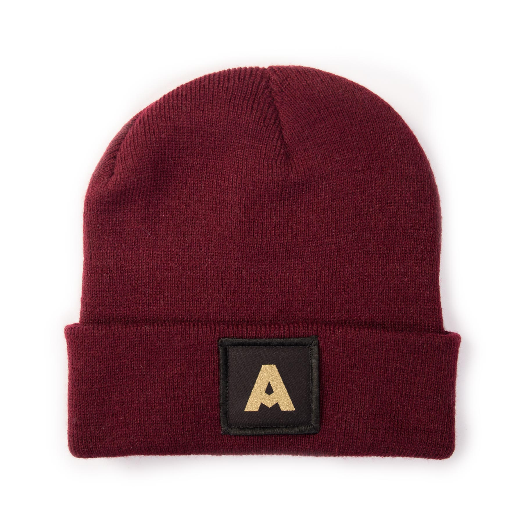 Screen Printed 5cm x 5cm Patch Beanies