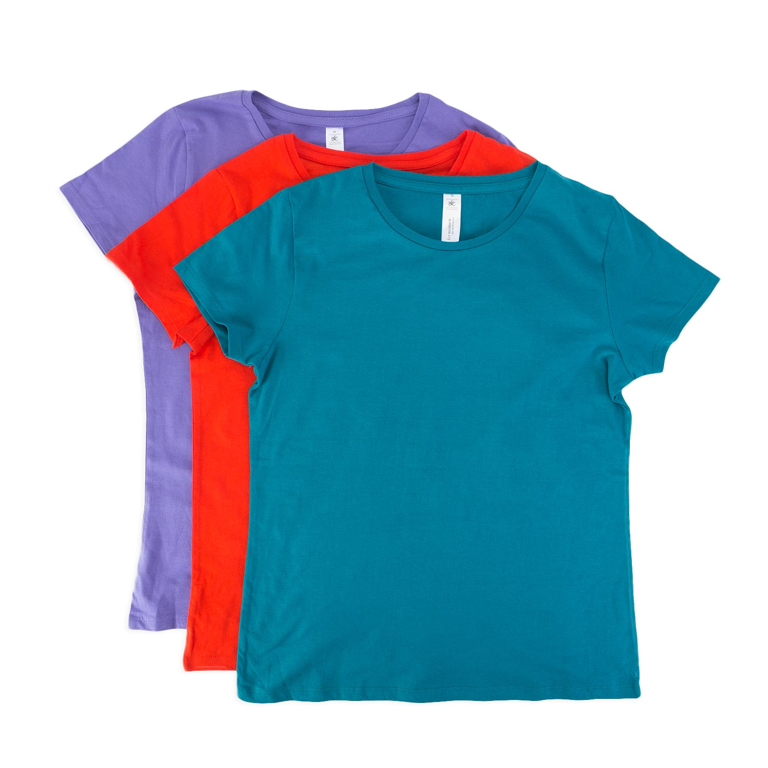 B&C #E190 Ladies' Crew Neck T-Shirts