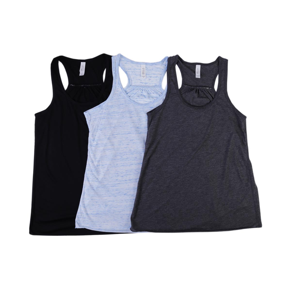 Bella + Canvas Ladies' Flowy Racerback Tanks