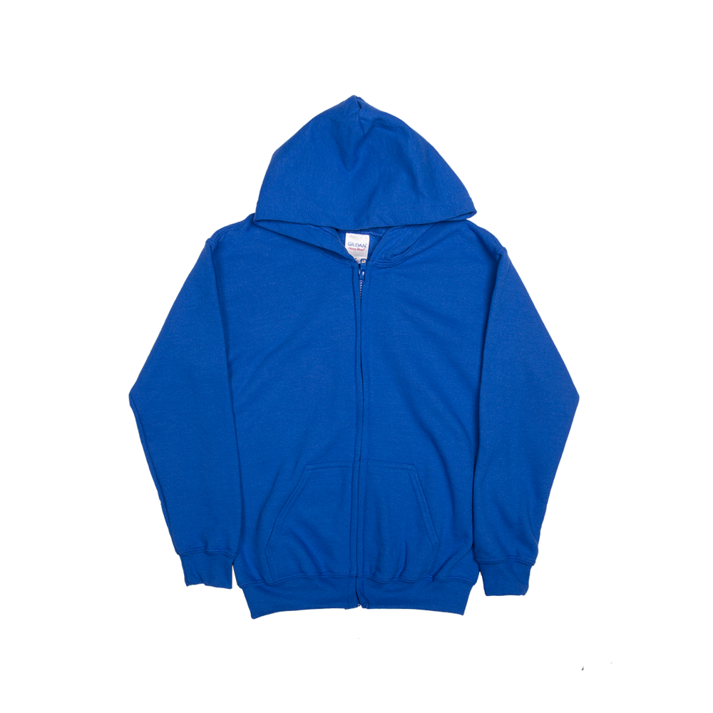 Gildan HeavyBlend Youth Full Zip Hooded Sweatshirts