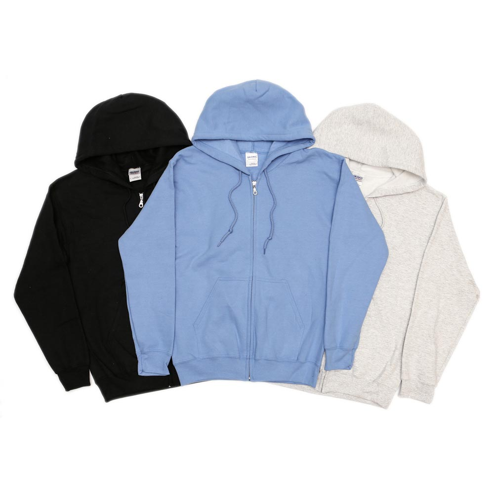 Gildan Heavy Blend Zip Up Hoodies
