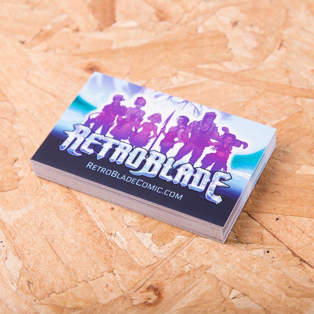 Laminated Business Cards Awesome Merchandise