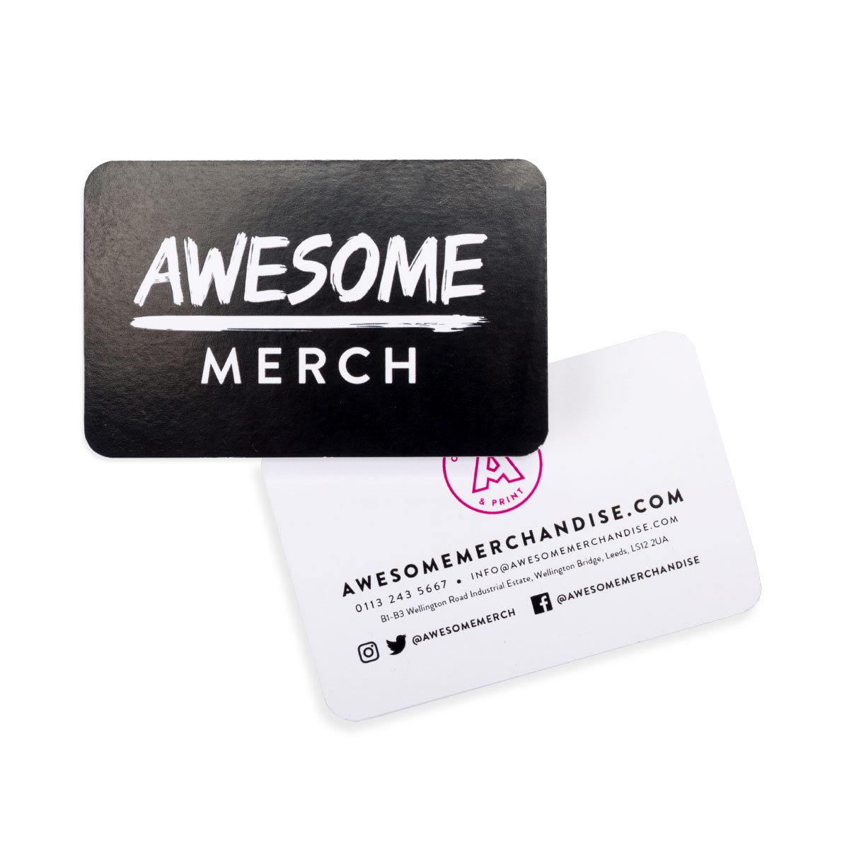 Rounded Heavyweight Business Cards