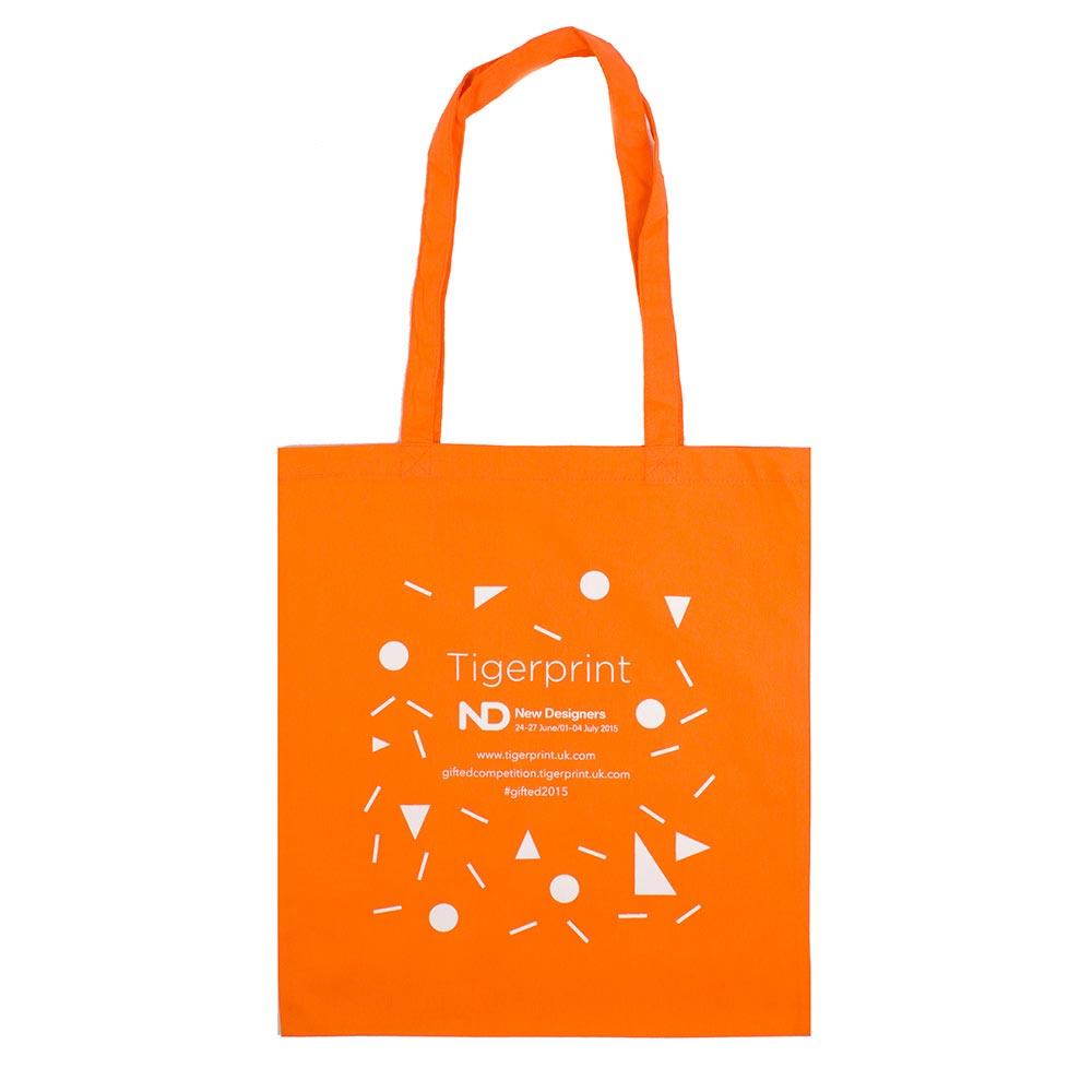 Screen Printed Tote Bags Custom Print
