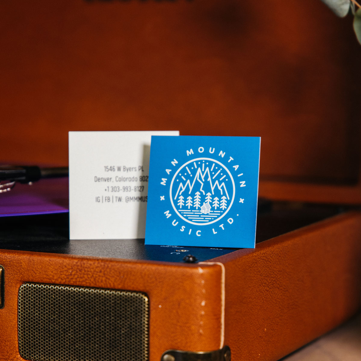 Square business cards awesome merchandise reheart Image collections