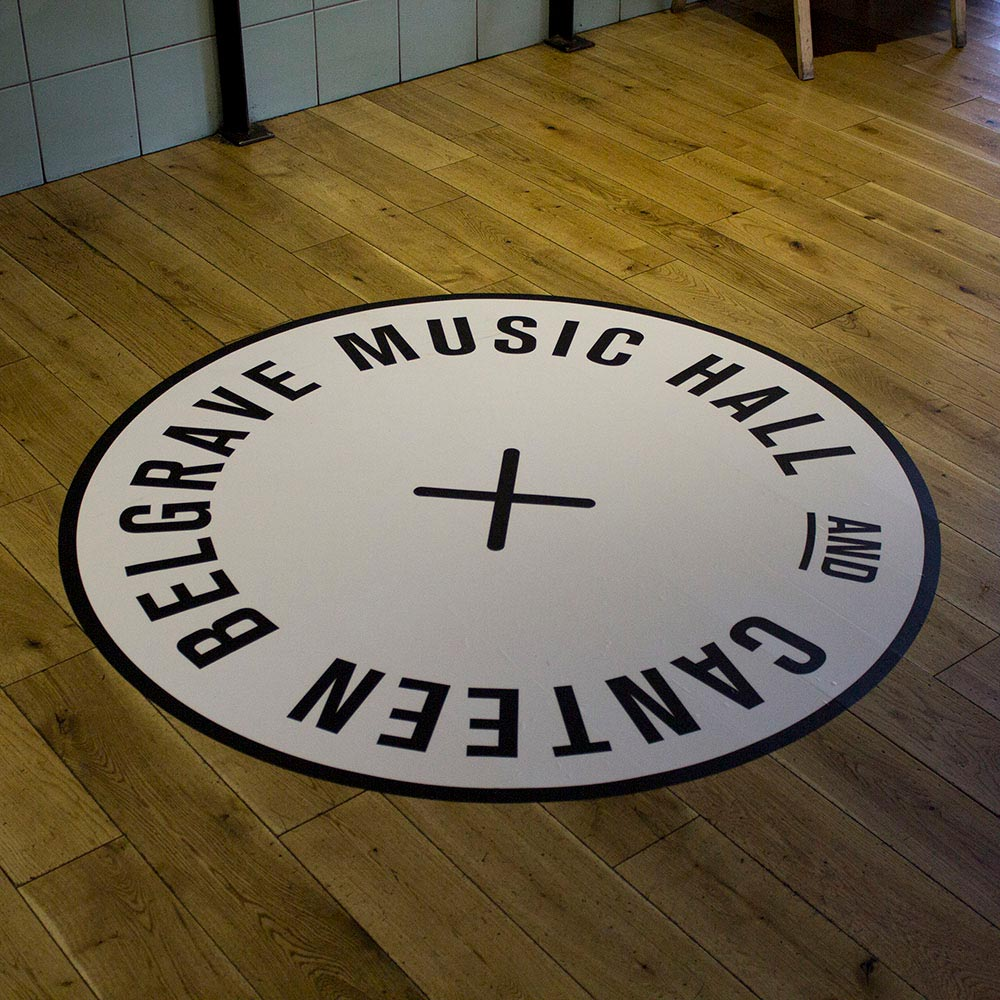 Custom Vinyl Floor Stickers