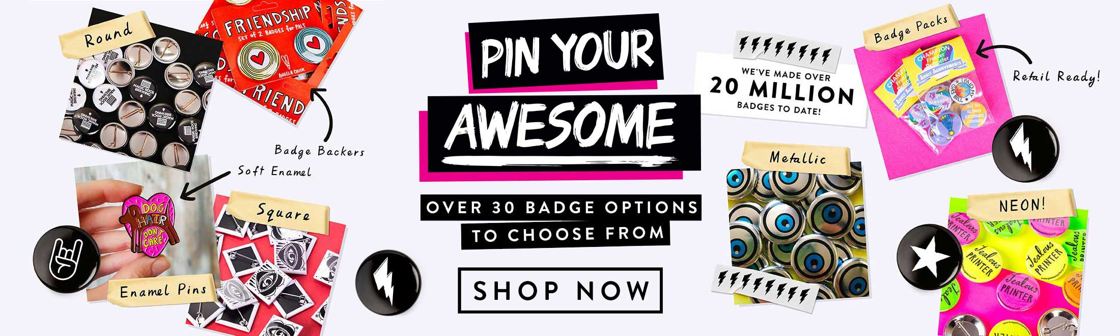 Awesome Badges Slider